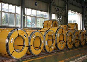 Bobinas de aceiro inoxidable 304 / 304L