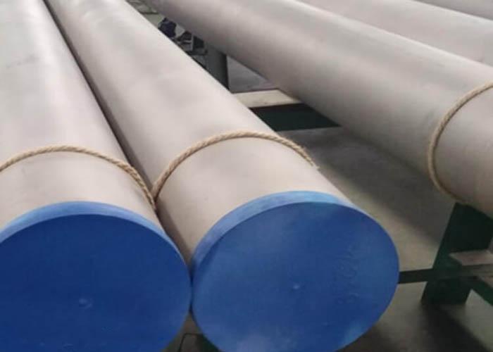 ASTM A790 UNS S31803 S32750 S32760 Tubo dúplex de acero inoxidable