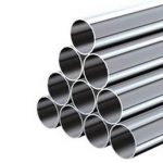 ASTM A213 TP 347 ASME SA 213 TP 347H EN 10216-5 1.4550 tubo de aceiro inoxidable sen soldadura
