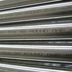 Barra redonda de aceiro inoxidable ASTM A276 AISI 316