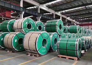 Bobina de aceiro inoxidable con ASTM JIS DIN GB